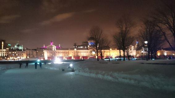 Patinação à noite - View-Port